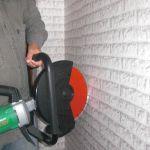 Аренда(прокат) отрезная пила (бетонорез)Hitachi CM 12 Y